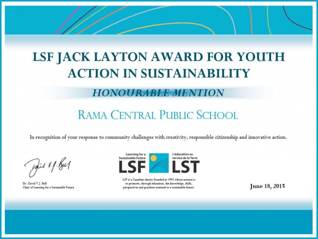 LSF-certificate