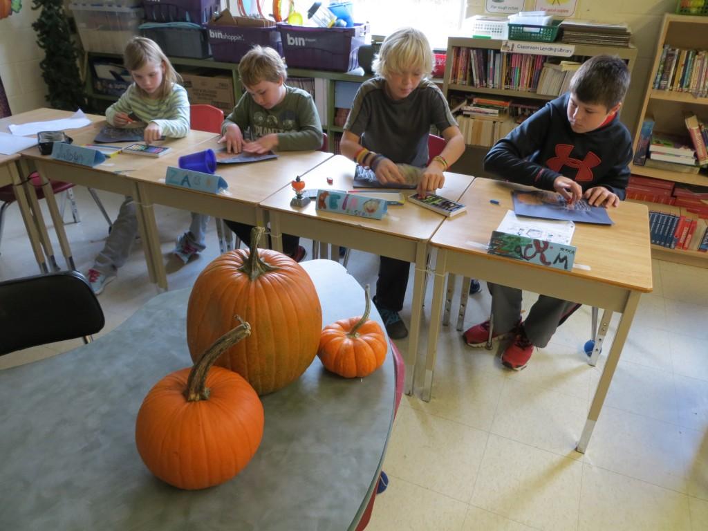 3 d pumpkin art u2013 mrs black u0027s class blog